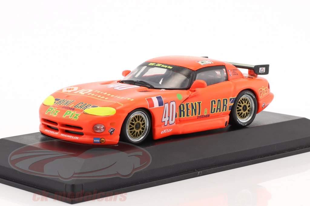 Dodge Viper Rent a Car #40 24h LeMans 1994 Arnoux, Bell, Balas 1:43 Minichamps Falsche Umverpackung