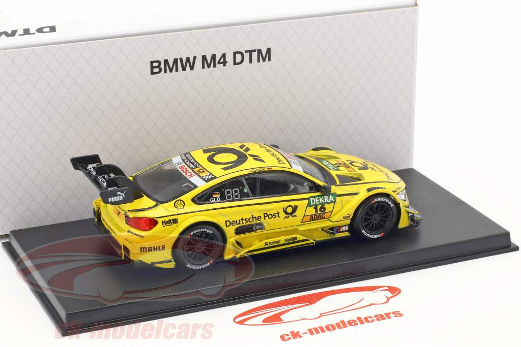 BMW M4 DTM #16 DTM 2017 Timo Glock BMW Team RMG 1:43 Herpa