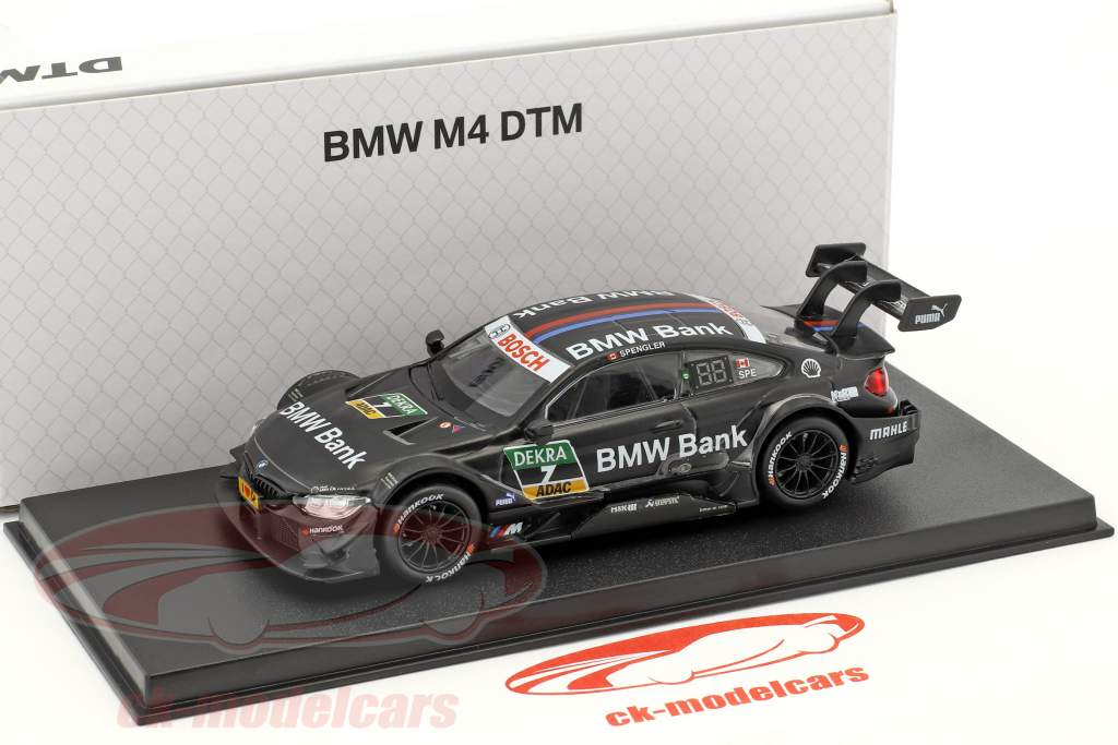 BMW M4 DTM #7 DTM 2017 Bruno Spengler BMW Team RBM 1:43 Herpa