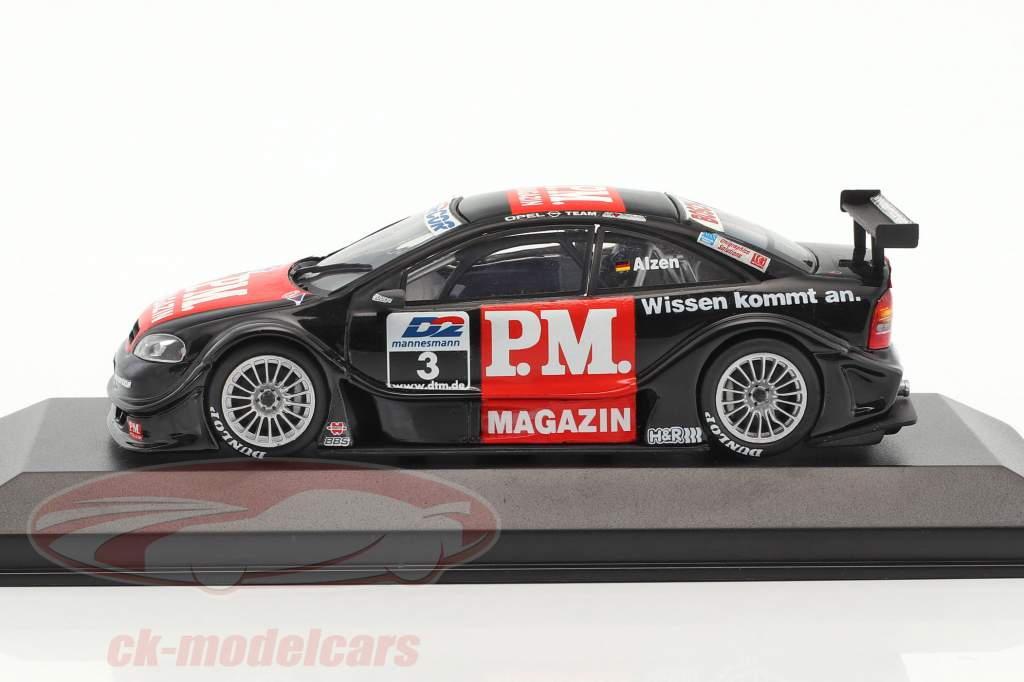 Opel V8 coupe #3 DTM 2000 Alzen 1:43 Minichamps false overpack
