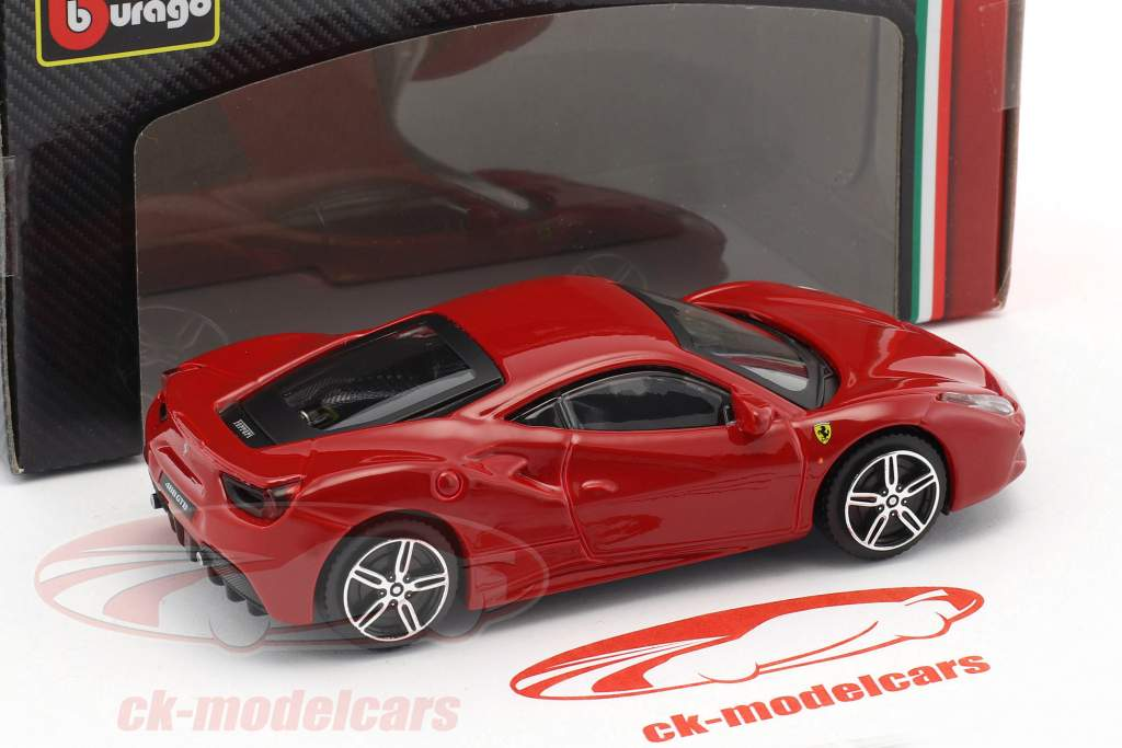 Ferrari 488 GTB rosso 1:43 Bburago