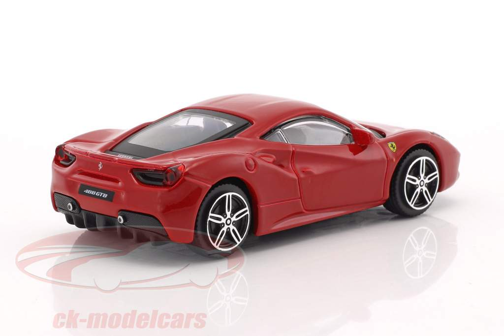 Ferrari 488 GTB rouge 1:43 Bburago