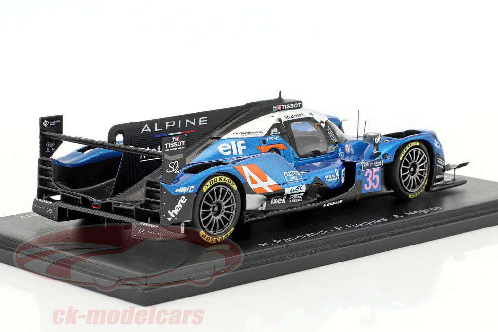 Alpine A470 #35 4th 24h LeMans 2017 Panciatici, Ragues, Negrao 1:43 Spark