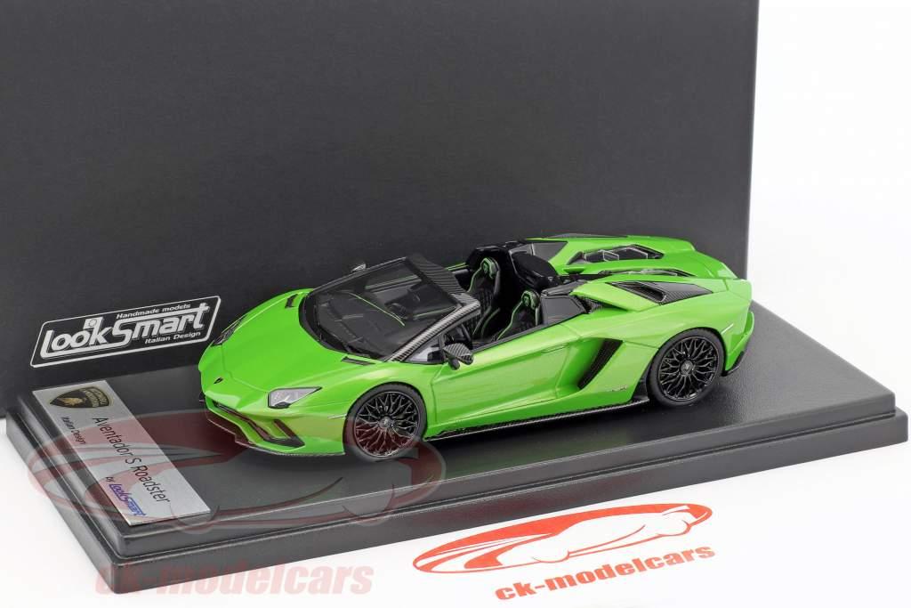 Lamborghini Aventador S Roadster mantis grün 1:43 LookSmart
