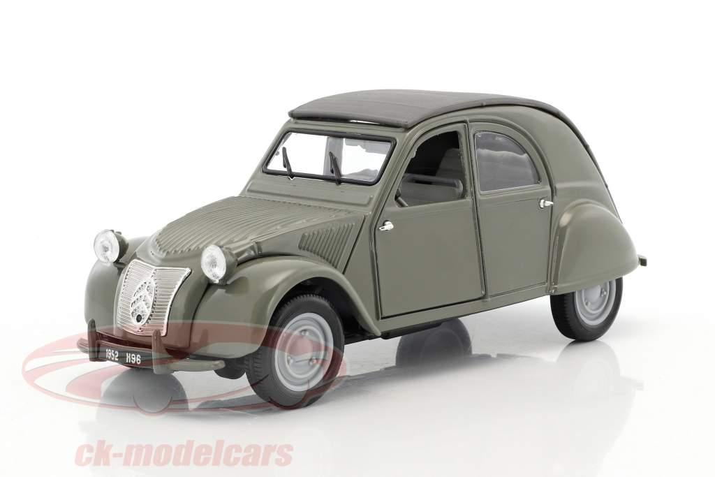 ck modelcars 31834g citroen 2cv ente year 1952 olive. Black Bedroom Furniture Sets. Home Design Ideas