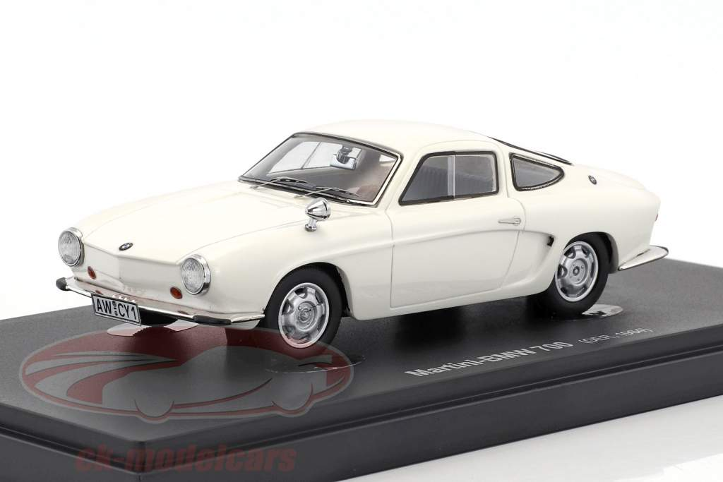 Martini-BMW 700 Type 4 year 1964 white 1:43 AutoCult