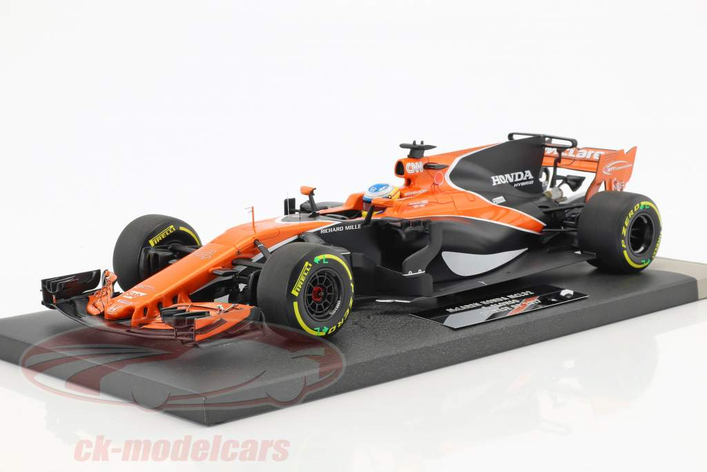 Fernando Alonso McLaren MCL32 #14 Chine GP formule 1 2017 1:18 Minichamps