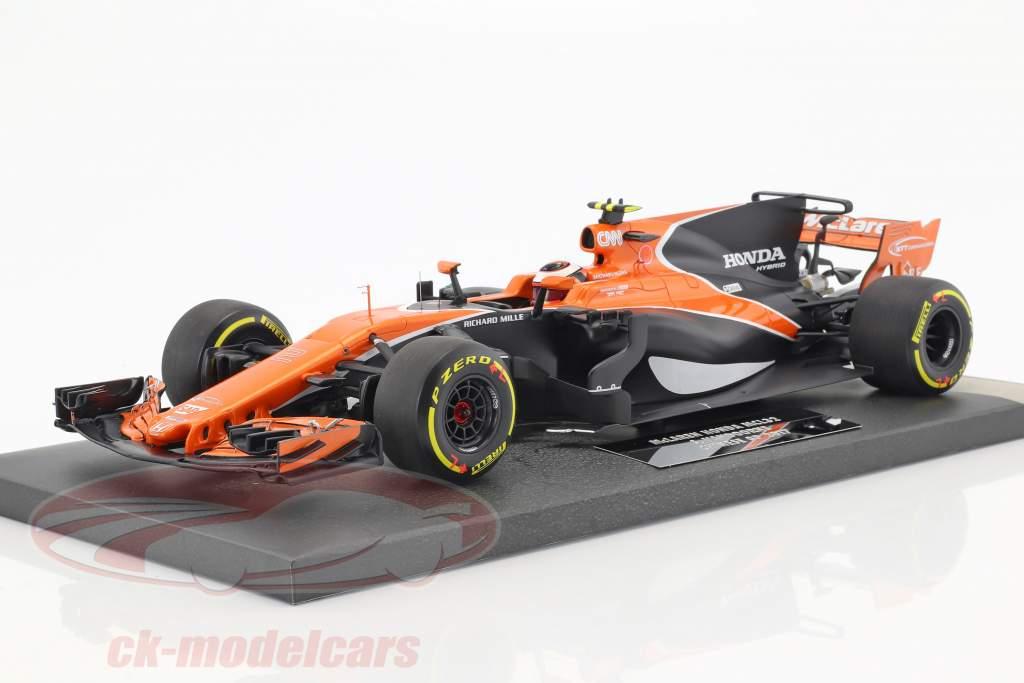 Stoffel Vandoorne McLaren MCL32 #2 Chinese GP formula 1 2017 1:18 Minichamps