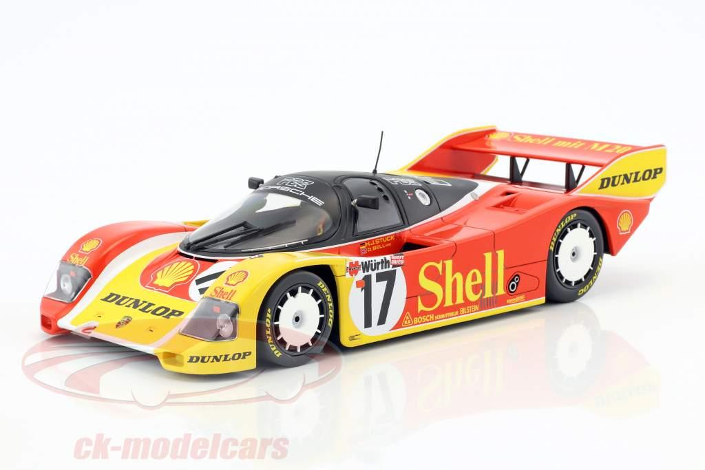 Porsche 962C #17 3 ° 200 miglia di Norimberga 1987 Stuck, Bell 1:18 Minichamps