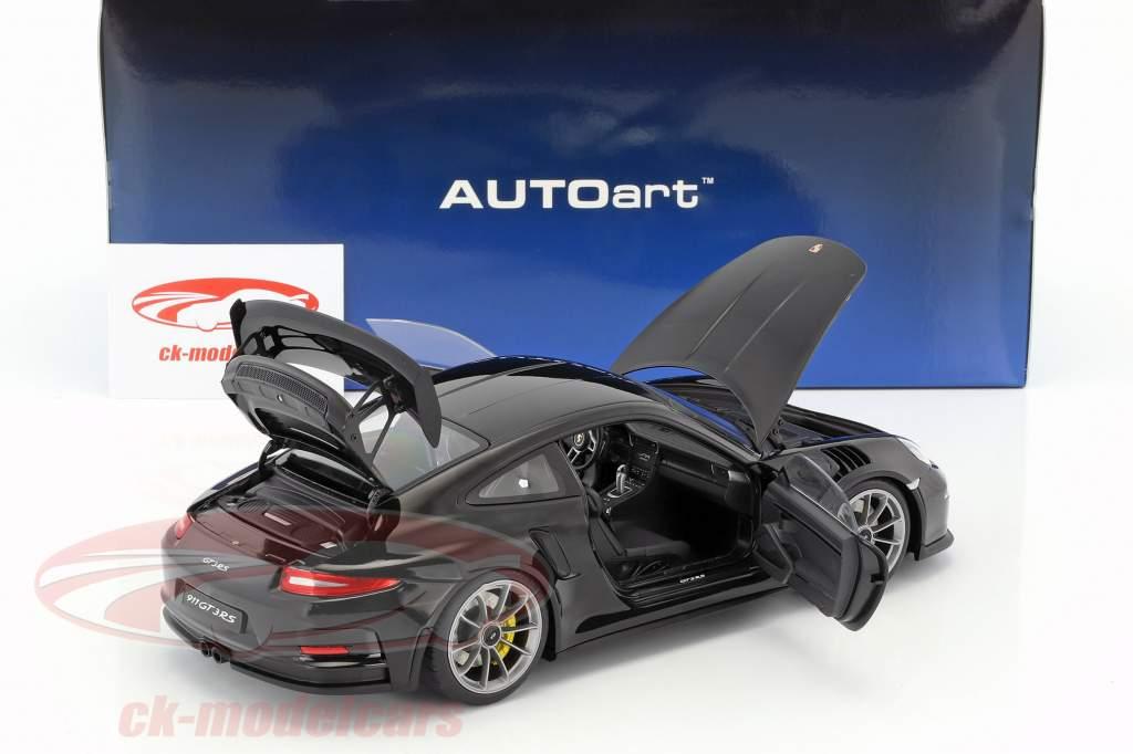 Porsche 911 (991) GT3 RS Baujahr 2016 schwarz 1:18 AUTOart