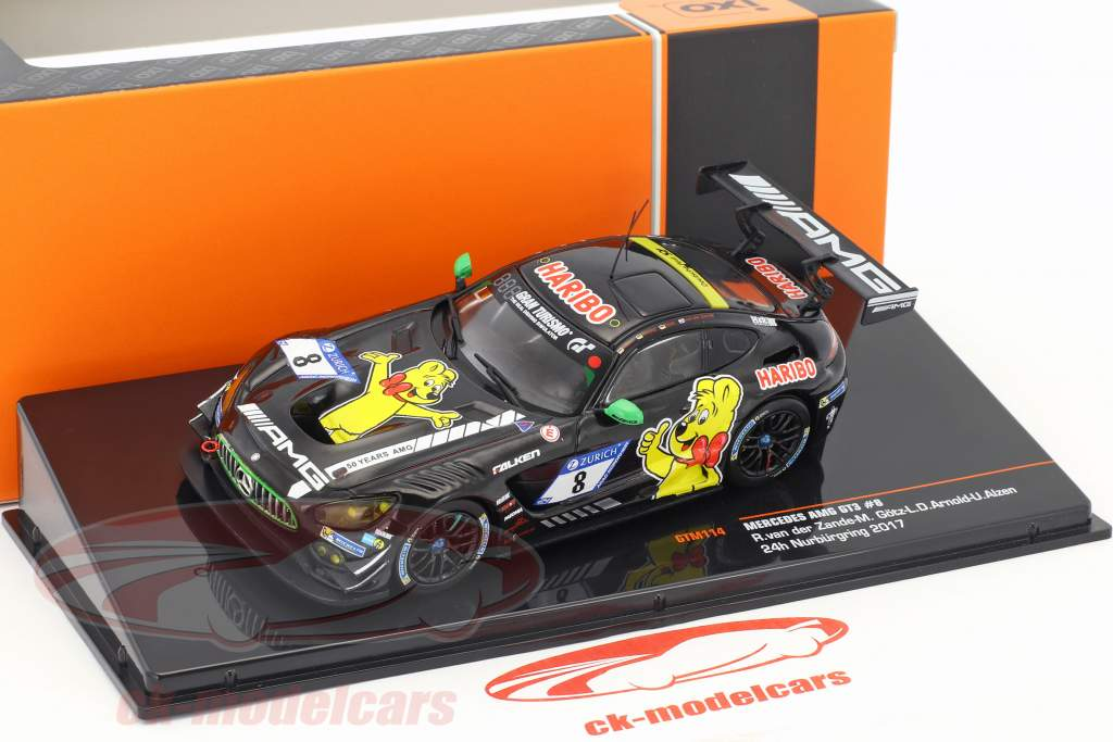Mercedes-Benz AMG GT3 #8 9 ° 24h Nürburgring 2017 Haribo Racing Team 1:43 IXO