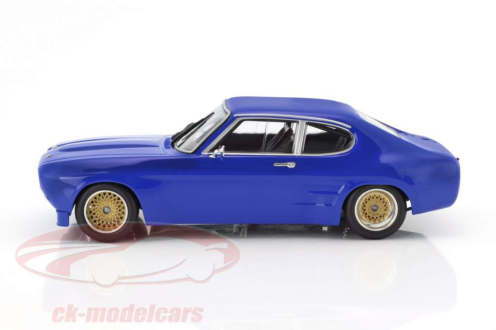 Ford Capri RS 2600 year 1970 blue 1:18 Minichamps
