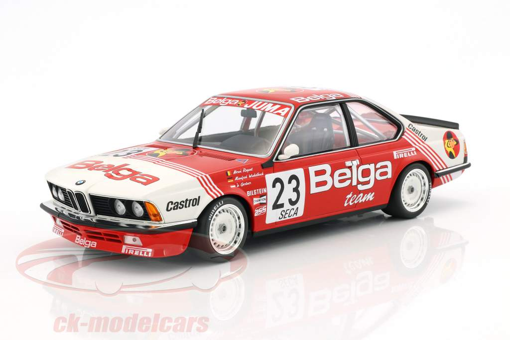 BMW 635 CSi #23 24h Spa 1985 Winkelhock, Regout, Gartner 1:18 Minichamps
