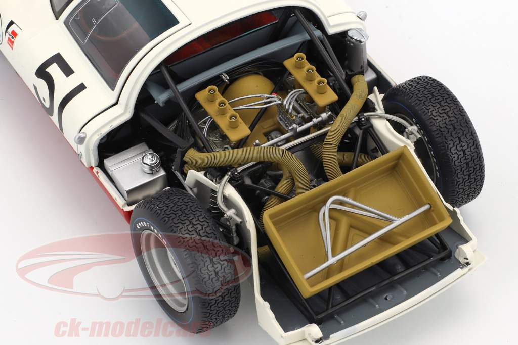Porsche 906E #51 24h Daytona 1967 Mitter, Rindt 1:18 Minichamps