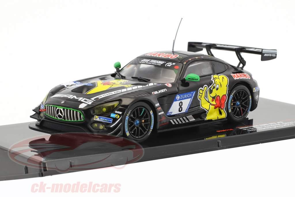 Mercedes-Benz AMG GT3 #8 9 24h Nürburgring 2017 Haribo Racing Team 1:43 IXO