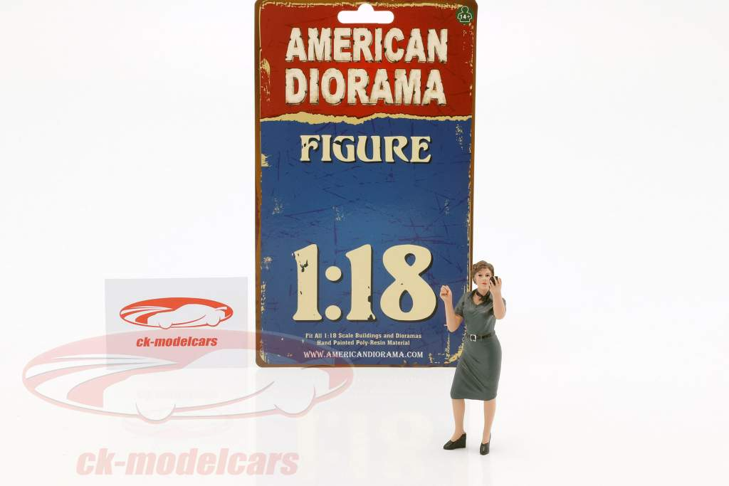 50s Style figure IV 1:18 American Diorama