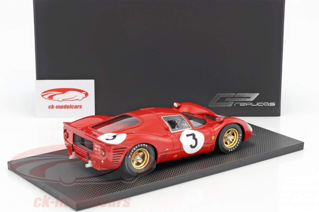 Ferrari 330 P4 #3 Winner 1000km Monza 1967 Bandini, Amon 1:18 GP Replicas
