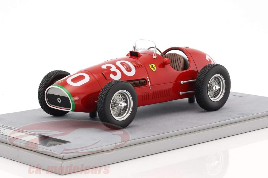 Piero Tarufi Ferrari 500 F2 #30 vincitore Svizzera GP formula 1 1952 1:18 Tecnomodel