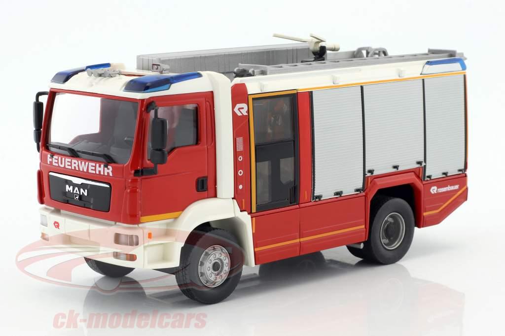 Rosenbauer AT (MAN TGM) fire Department red / white 1:43 Wiking