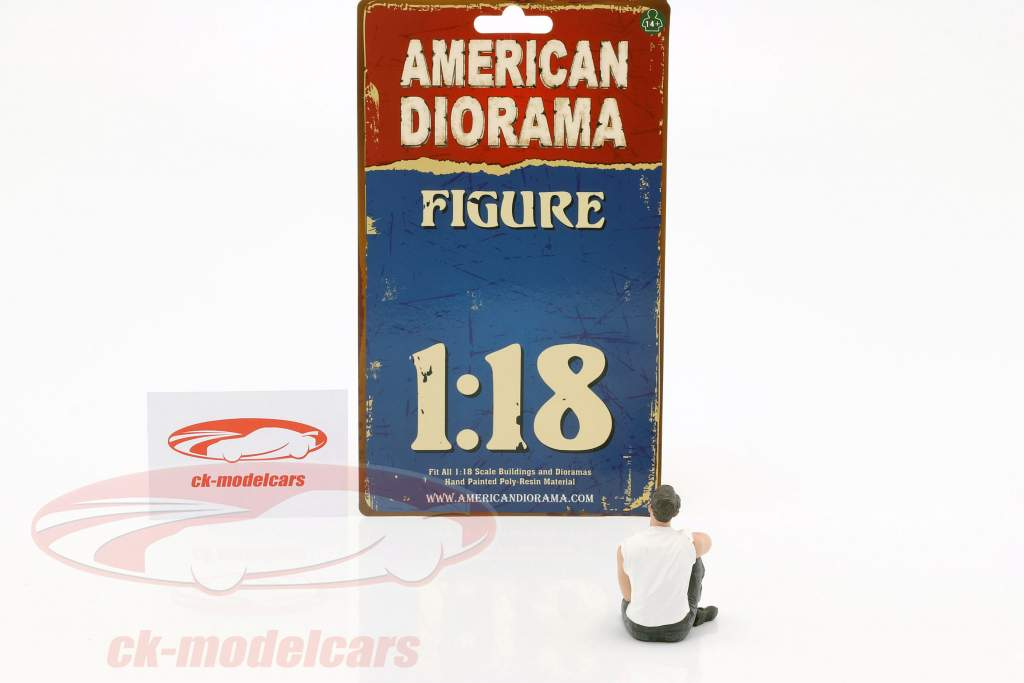 50s Style cifra V 1:18 American Diorama