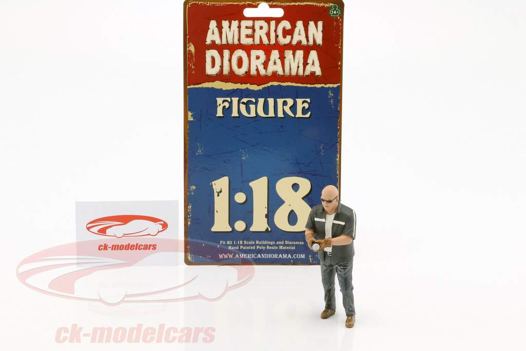 figure Mr. Frabricator 1:18 American Diorama