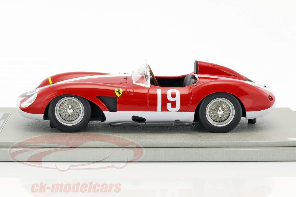 Ferrari 500 TRC #19 1000km Nürburgring 1957 Köchert, Bauer 1:18 Tecnomodel