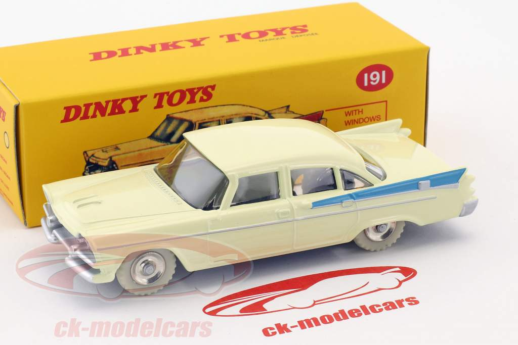 Dodge Royal Sedan beige / blau 1:43 Dinky Toys