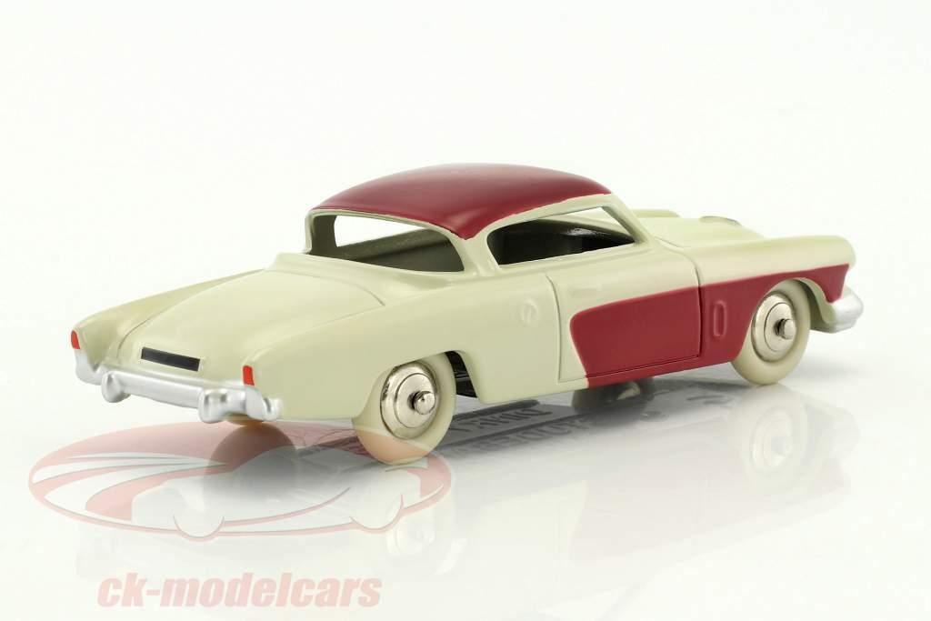 Studebaker Commander white / bordeaux red 1:43 Dinky Toys
