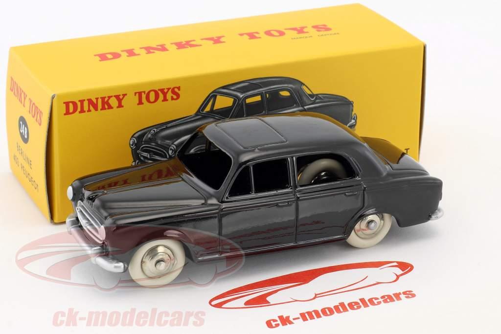 Peugeot 403 Berline schwarz 1:43 Dinky Toys