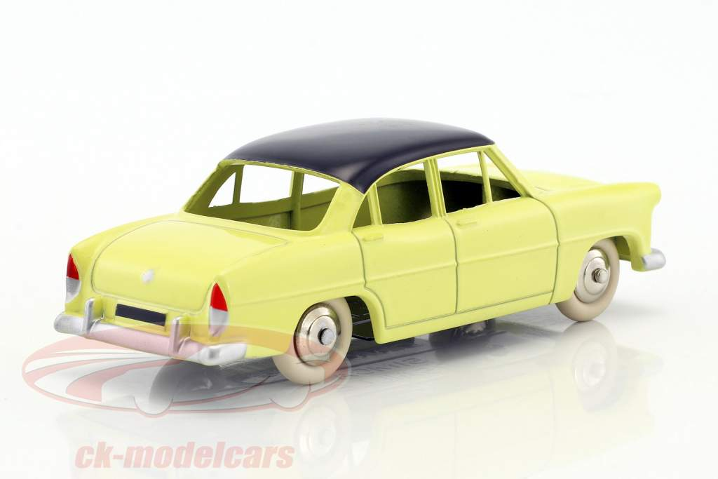 Simca Versailles yellow / black 1:43 Dinky Toys