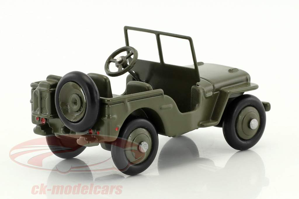 Jeep Hotchkiss Willys green 1:43 Dinky Toys