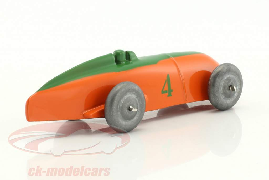 Race car orange / green 1:43 Dinky Toys