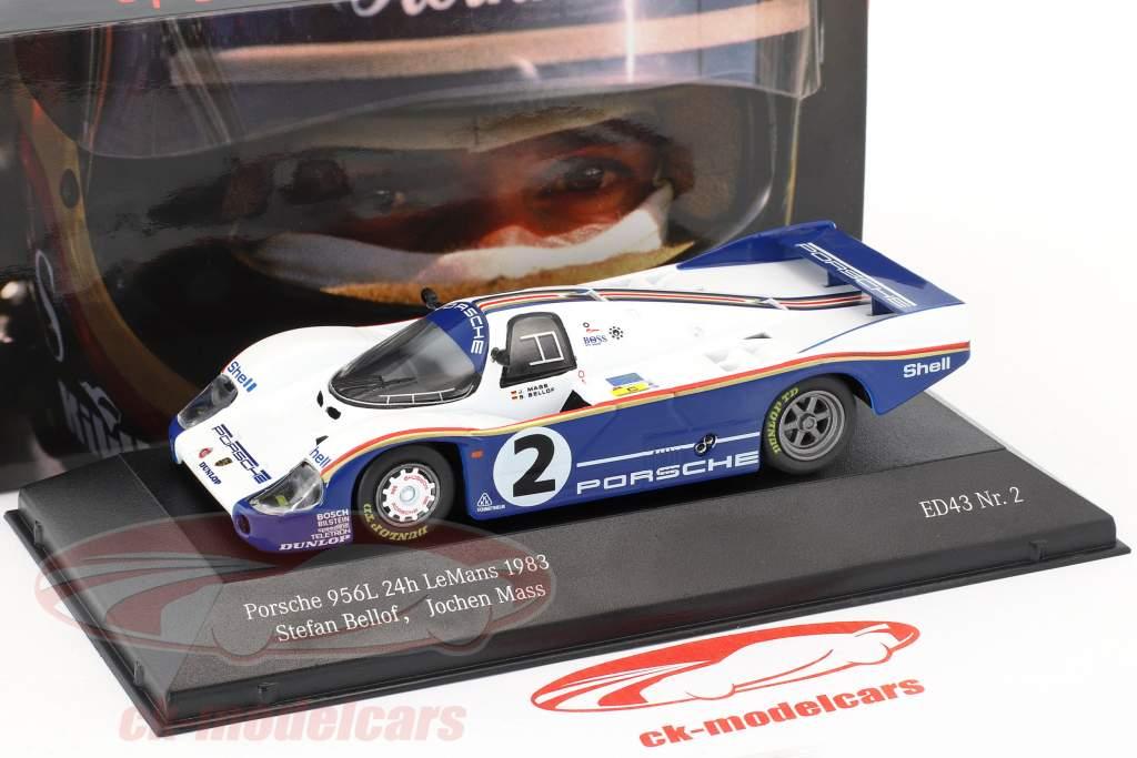 Porsche 956 LH #2 24h LeMans 1983 Mass, Bellof 1:43 CMR