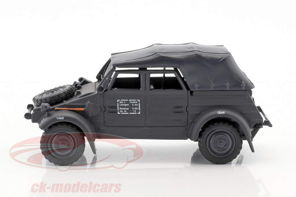 Volkswagen VW Kubel Typ 82 Soft Top year 1940 green 1:43 Cararama