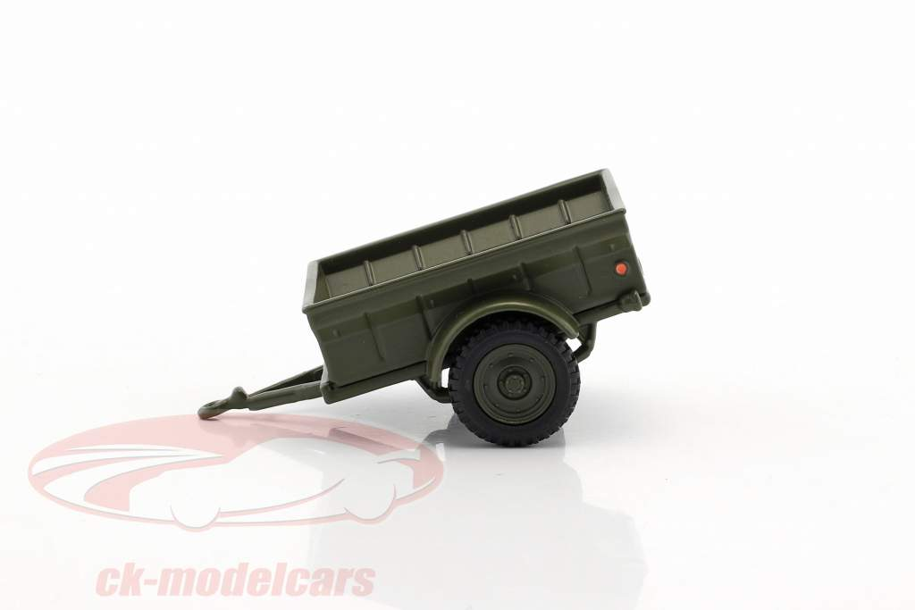 Div 1/4 Ton USA military pendant 1:43 Cararama
