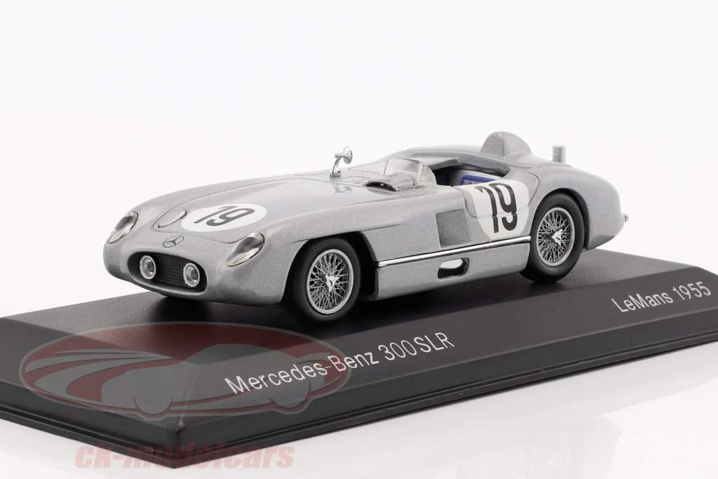 Mercedes-Benz 300 SLR #19 24h LeMans 1955 Fangio, Moss 1:43 Minichamps