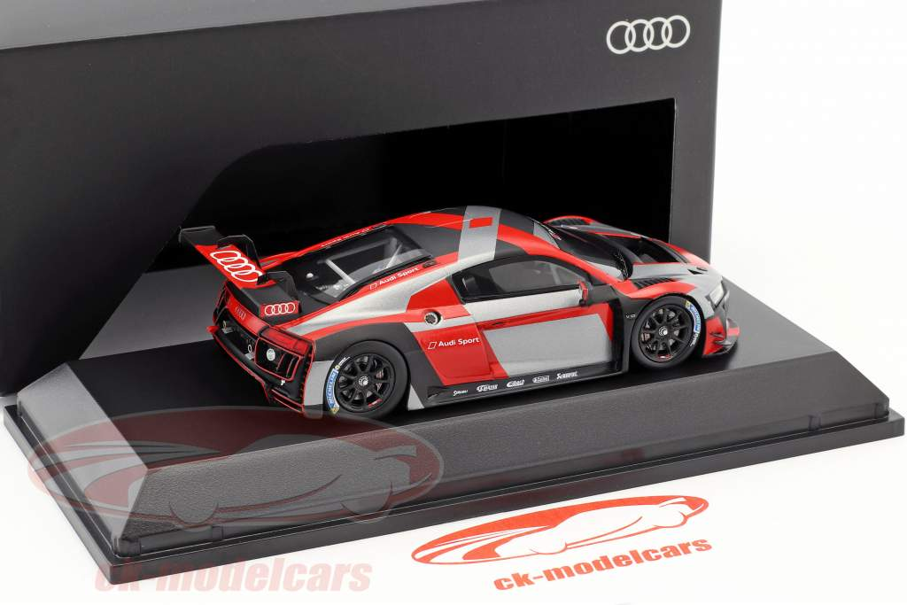 Audi R8 LMS Presentation car warpaint 1:43 Spark