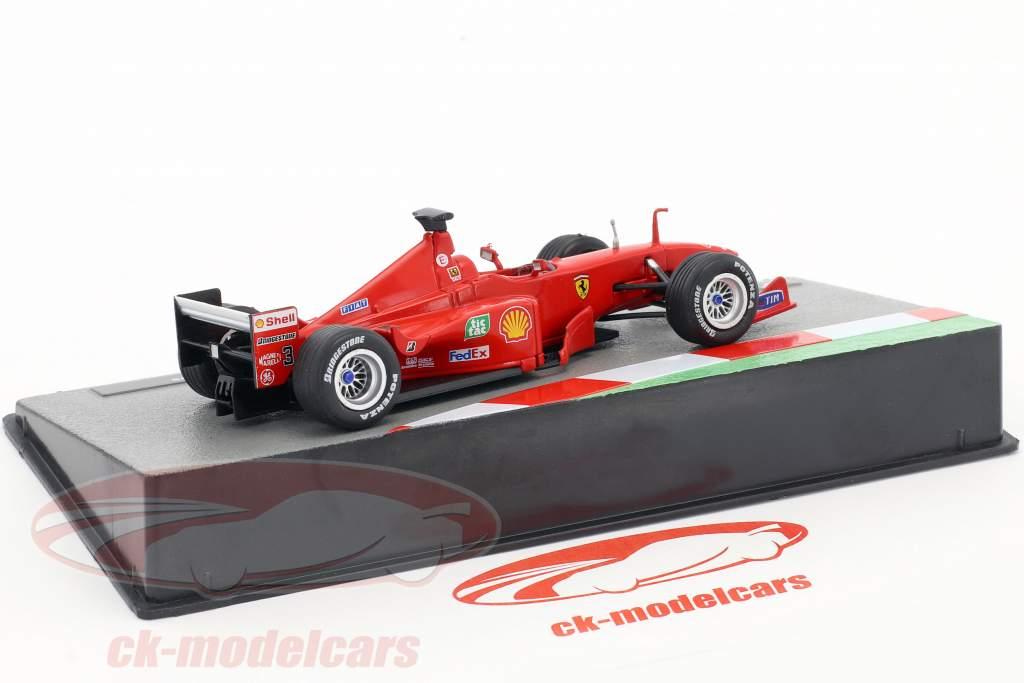 Mika Salo Ferrari F399 #3 formule 1 1999 1:43 Altaya