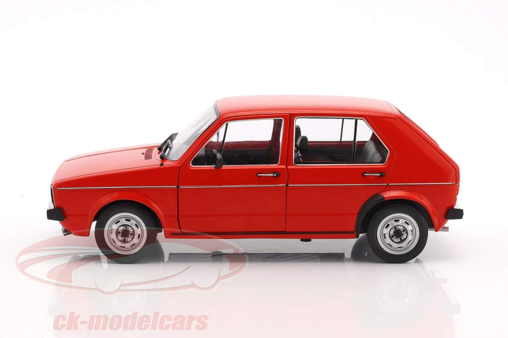Volkswagen VW Golf 1 L red 1:18 Solido
