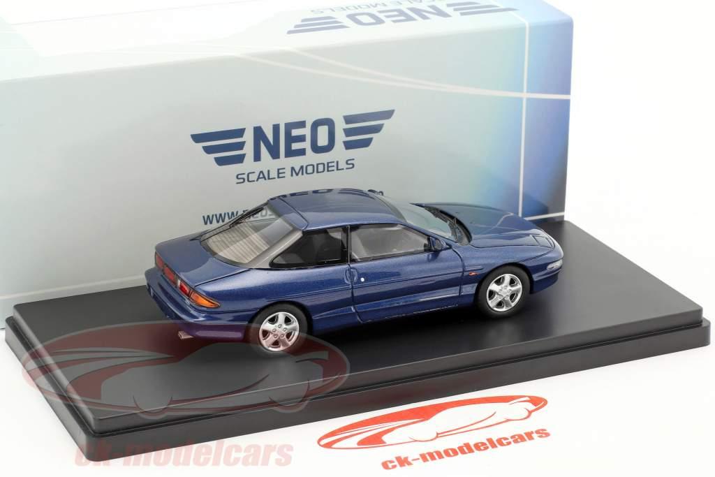 Ford Probe II year 1992 blue metallic 1:43 Neo