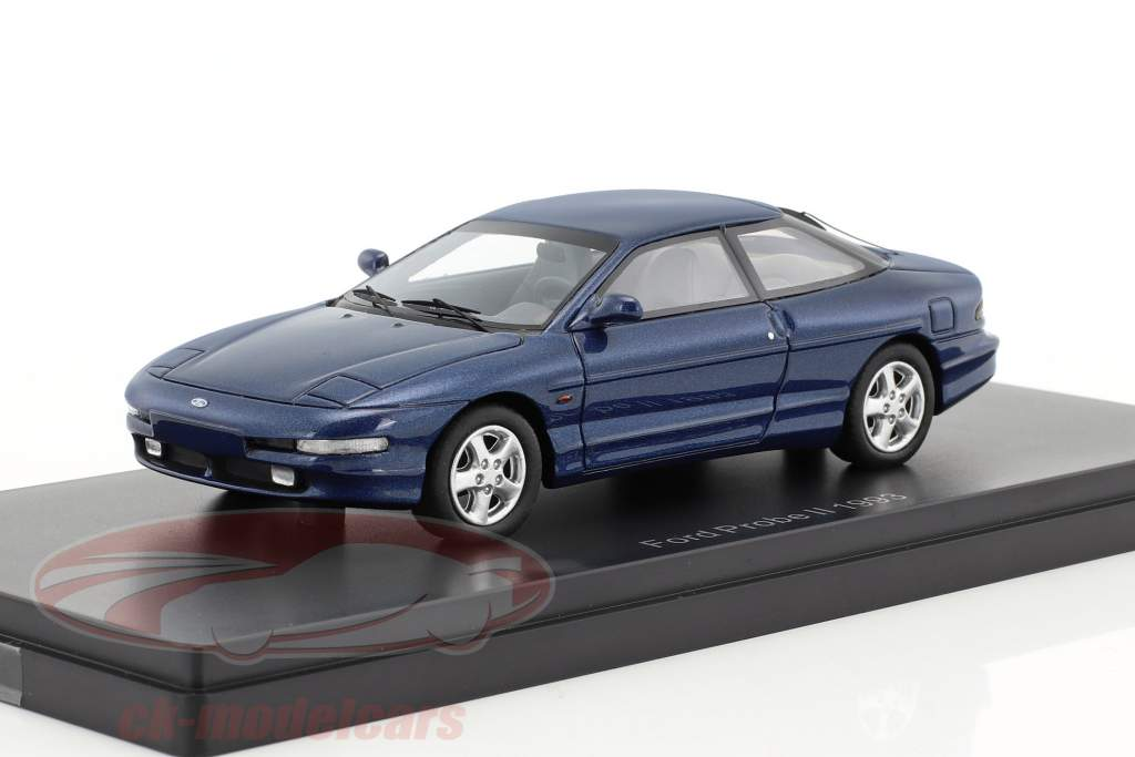 Ford Probe II year 1992 blue metallic 1:43 Neo