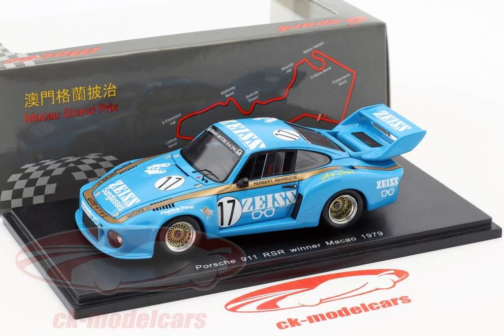 Porsche 935 #17 Winner Macau Guia Race 1979 Herbert Adamczyk 1:43 Spark