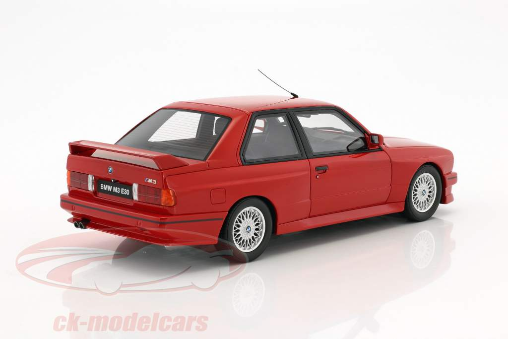 BMW E30 M3 Baujahr 1989 brilliantrot 1:18 OttOmobile