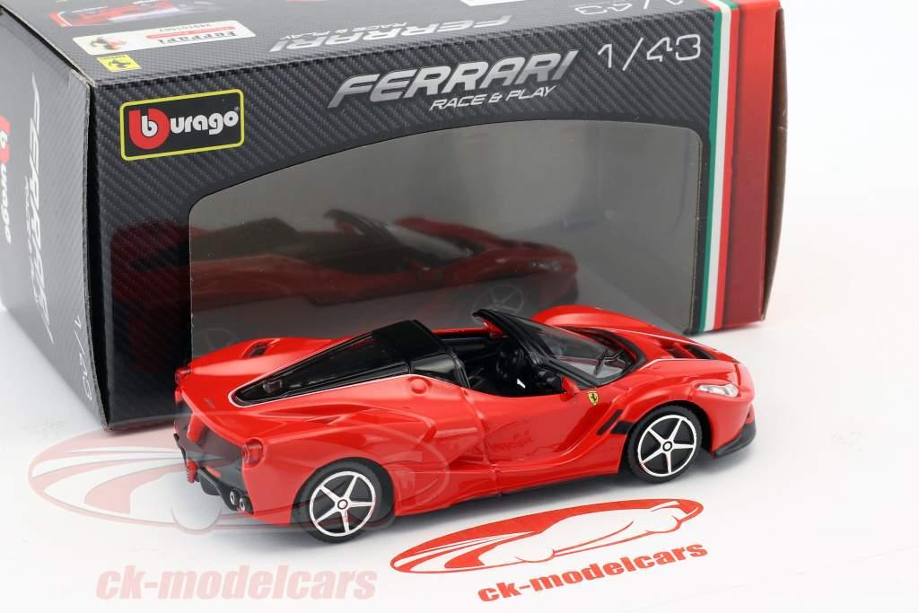 Ferrari LaFerrari Aperta red 1:43 Bburago