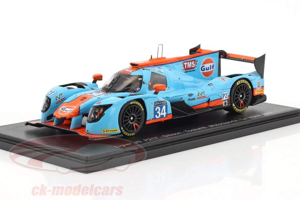 Ligier JSP217 #34 24h LeMans 2017 Moore, Hanson, Chandhok 1:43 Spark