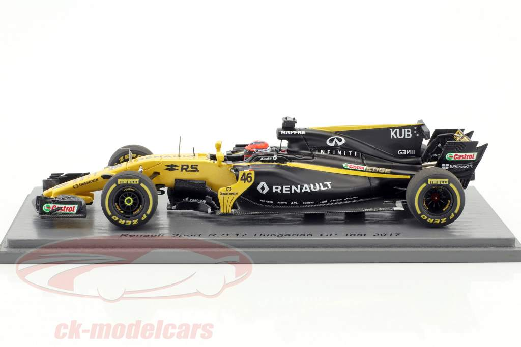 Robert Kubica Renault R.S.17 #46 test Hungary GP formula 1 2017 1:43 Spark