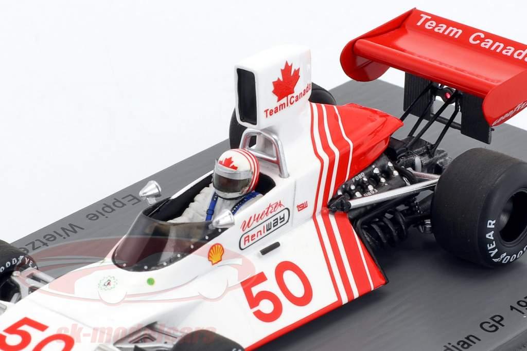 Eppie Wietzes Brabham BT42 #50 Canadian GP formula 1 1974 1:43 Spark