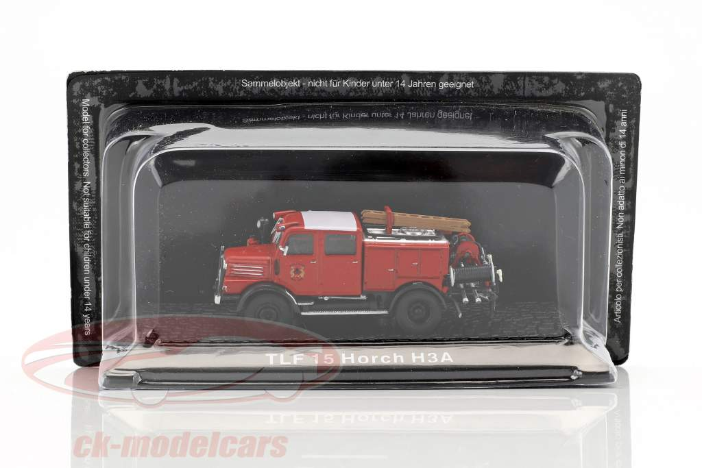 Horch H3A TLF 15 fire Department 1:72 Altaya