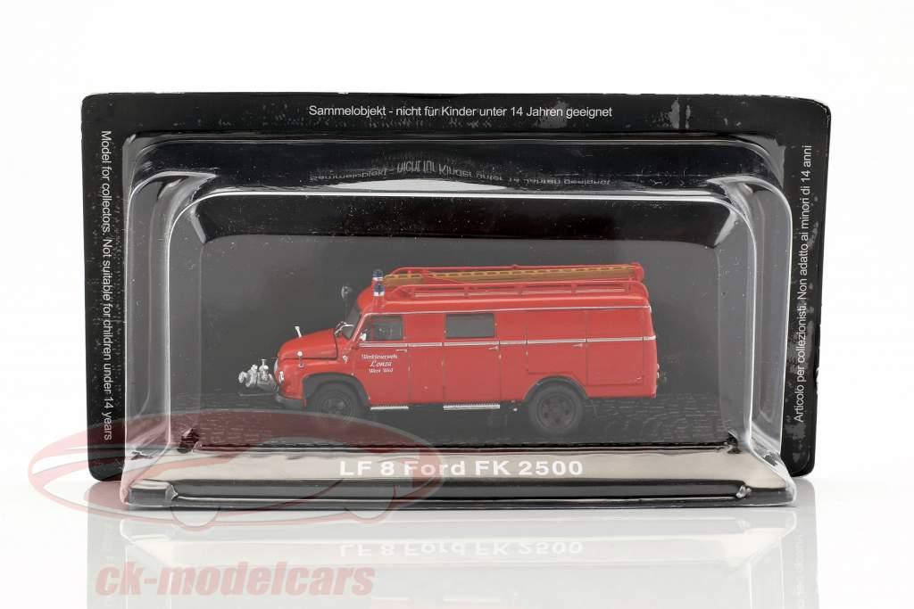 Ford FK 2500 LF 8 plant fire Department Lonza 1:72 Altaya