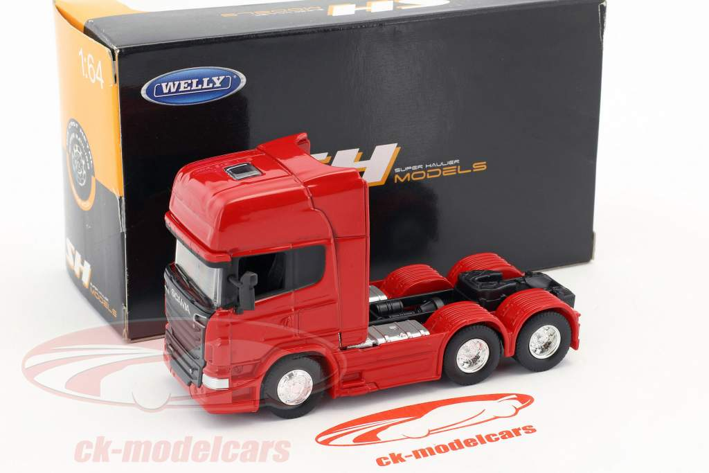 Scania V8 R730 (6x4) rot 1:64 Welly